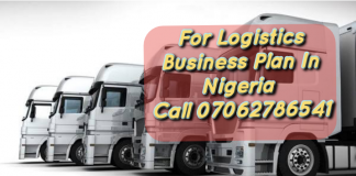 Logistics Business Plan In Nigeria