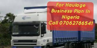 Haulage Business Plan In Nigeria Feasibility Study PDF