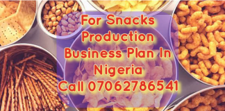 Snacks Production business