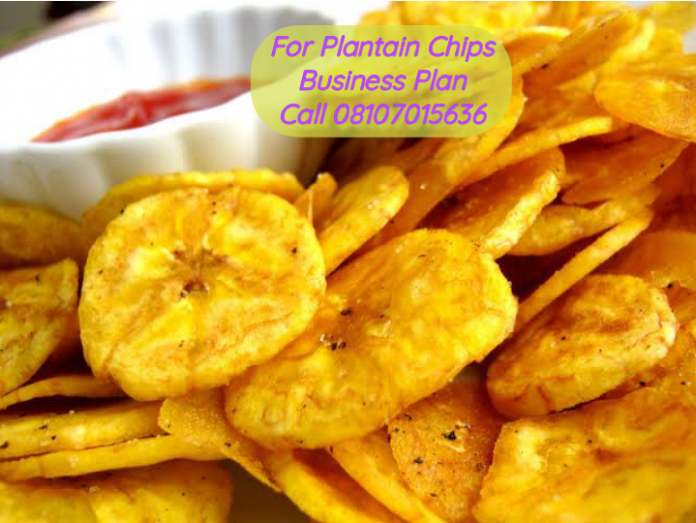 Plantain Chips Business Plan In Nigeria